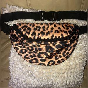 Leopard fanny pack!